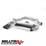 "Milltek Sport Volkswagen Golf MK5 GTI Edition 30 2.0 TFSI 230PS (2006-2009) 3.00"" Cat Back Exhaust System (Non-Resonated) - SSXVW282"