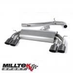 "Milltek Sport Volkswagen Golf MK7 R 2.0 TSI 300PS (2014-) 3.00"" Non-Valved Cat Back Exhaust System (Non-Resonated) - SSXVW306"