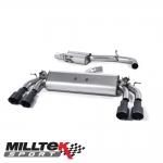 "Milltek Sport Volkswagen Golf MK7 R 2.0 TSI 300PS (2014-) 3.00"" Cat Back Exhaust System (Resonated) - SSXVW400"