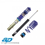 AP Audi A3 8P 2WD Hatchback & Sportback With 55mm Front Strut Ø (03/03-) Coilover Suspension Kit - GF10-040