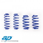 AP Audi A3 8L 2WD 1.6, 1.8, 1.8 Turbo, 1.9 TDI With Tiptronic (09/96-05/03) Lowering Spring Kit - 40/30mm - FS10-328