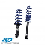 AP Audi A3 8P 2WD Hatchback 1.6, 2.0, 1.4 TFSI With 50mm Front Strut Ø (05/03-) Spring & Damper Suspension Kit - 35/35mm - SP10-150