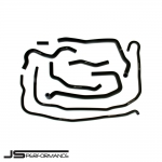 JS Performance Ford Fiesta MK6 ST150 Facelift (2007-2008) Silicone Ancillary Hose Kit - JSCAFO046
