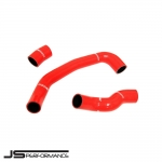 JS Performance Ford Fiesta MK7 1.0 Turbo EcoBoost 100/125/140 BHP (2013-) Silicone Turbo Boost Hose Kit - JSCAFO054