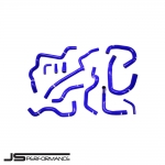 JS Performance Ford Fiesta MK7 ST180 1.6 Turbo EcoBoost (2012-) Silicone Ancillary & Breather Hose Kit - JSCAFO055
