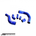 JS Performance Ford Fiesta MK7 ST180 1.6 Turbo EcoBoost (2012-) Silicone Turbo Boost Hose Kit - JSCAFO058