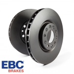 EBC Brakes Audi A1 8X 1.0 TFSI 95 BHP (2015-) D Series Premium OE Brake Discs (Front) - VW Caliper - 256mm Disc - D817
