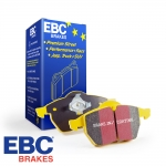 EBC Brakes Audi A1 8X 1.0 TFSI 95 BHP (2015-) Yellowstuff Brake Pads (Rear) - Girling/TRW Caliper - 233mm Disc - DP4680R