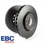 EBC Brakes Vauxhall Corsa D VXR 1.6 Turbo (2006-2014) D Series Premium OE Brake Discs (Rear) - Bosch Caliper - 264mm Disc - D1659
