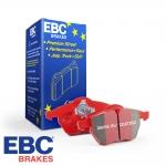 EBC Brakes Vauxhall Astra J GTC VXR 2.0 Turbo (2012-) Redstuff Brake Pads (Rear) - TRW Caliper - DP32066C
