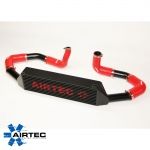 Airtec Vauxhall Corsa D Black Edition 1.4 Turbo (2012-2015) 80mm Core Intercooler Upgrade Kit - ATINTVAUX8