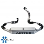 Airtec Vauxhall Corsa E 1.4 Turbo (2014-) 80mm Core Intercooler Upgrade Kit - ATINTVAUX9