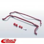 Eibach Audi A3 8VA Sportback 1.0 TFSI, 1.2 TFSI, 1.4 TFSI, 1.8 TFSI, 2.0 TFSI, 1.6 TDI, 2.0 TDI With Torsion Beam Rear Suspension (09/2012-) Anti-Roll Bar Kit - Front & Rear - E40-15-021-03-11