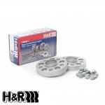 H&R Skoda Fabia 6Y vRS 1.9 TDI (2003-2007) DRA Series® Bolt On Wheel Spacers - 20mm - 4025571