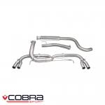 "Cobra Sport Vauxhall Astra J VXR 2.0 Turbo (2012-) 3.00"" Cat Back Exhaust System (Venom) - VX28TP28"
