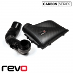 Revo Volkswagen Golf MK7 R 2.0 TSI (2012-) Carbon Series Airbox Lid & Turbo Inlet Hose Kit - RV581M200600