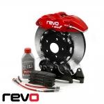 Revo Volkswagen Polo 6C GTI 1.8 TSI (2015-) Mono 4 Big Brake Kit - 332 x 28mm - RV031B100200