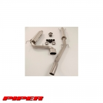 Piper Vauxhall Astra H VXR 2.0 Turbo (2005-2010) Cat Back Exhaust System (1 Silencer) - TAST15BS