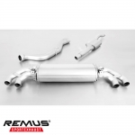 Remus Audi S1 8X 2.0 TFSI Quattro (2015-) Cat Back Exhaust System (Resonated) - 045015 1500