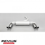 Remus Audi S3 8V Saloon 2.0 TFSI Quattro (2013-) Cat Back Exhaust System (Non-Resonated) - 047014 1500 1