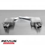 Remus Audi RS4 B8 Avant 4.2 FSI Quattro (2012-) Rear Silencer Exhaust - 049010 0500LR 1