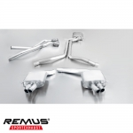 Remus Audi RS4 B8 Avant 4.2 FSI Quattro (2012-) Cat Back Exhaust System (Resonated) - 049010 0500LR 3